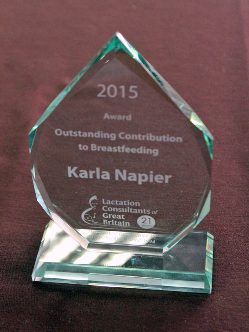 outstanding contribution to breastfeeding award  2017