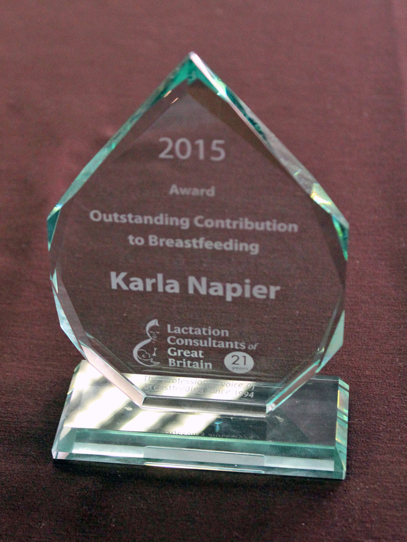 Award 2016 Karla w